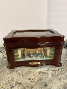 Mr. Christmas Lighted Animated Symphonium Victorian Ballroom Music Box Disc