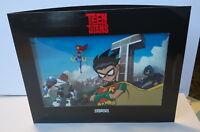 TEEN TITANS promo cybercene cel 3D 2003 Great gift! Robin Starfire Beast Boy ...