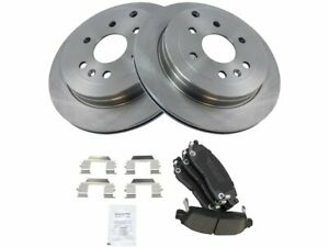 For 2009-2017 Chevrolet Traverse Brake Pad and Rotor Kit Rear 25592FP 2013 2012