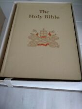 More details for the holy bible caxton publishing old & new testaments colour illustrated 1958