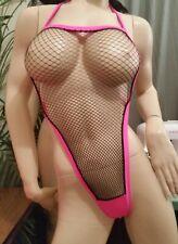exotic dancer  Black net bodysuit