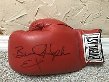 BERNARD HOPKINS SIGNED AUTO EVERLAST BOXING GLOVE RARE FULL SIG EXECUTIONER JSA