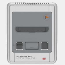 Caja Retroflag Super Pi, caja estilo Super Nintendo para Raspberry Pi. Case