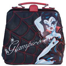 Kreepsville 666 Glampire Doctors Bag with Spiderweb Stitching