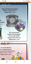 Disney crest of the Kingdom  It's a small world pin presale 7/11