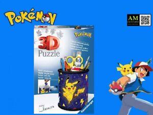 Ravensburger 3D Puzzle - Pokemon Utensilo - 54 Pieces - New