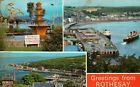 D6312cgt UK Rothesay Multiview pu1972 vintage postcard