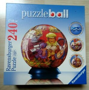 Puzzleball LA  FAMILLE OURS  - 240 Pièces & Support-Ravensburger
