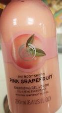 The Body Shop pink grapefruit 8.4 OZ Pump Bottle gel lotion