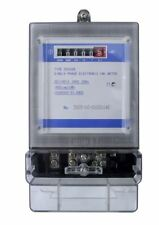 Matelec Single Phase Analogue Surface Mount KWH Meter Class 1 Accuracy IP51
