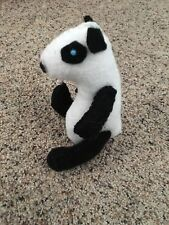 OOAK Panda Bear Plush -  Custom Made In the United States