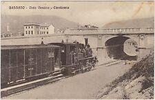 BASSANO - VIALE VENEZIA - CAVALCAVIA - TRENO IN PRIMO PIANO (VICENZA) 1910