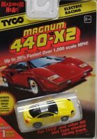 HO Slot Car - Tyco 440x2 Magnum - Dodge Stealth - Yellow - 9141