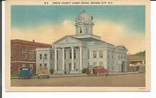 SWAIN COUNTY COURT HOUSE, BRYSON CITY, N.C. POSTCARD 1955