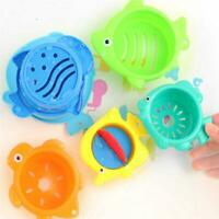 1 Set Early Education Baby Toy Intelligence Hollow Out Children Pool Bath Toy 6T