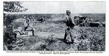 Österreichische Batterie im Feuer Historische Aufnahme von 1915