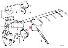 Genuine BMW E23 E24 E28 Coupe Ignition Spark Plug Wire 1pcs OEM 12121279550