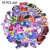 50pcs Anime Universe Galaxy Stars Sticker Vinyl For Car Luggage Laptop Decal DIY