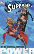 SUPERGIRL Vol. 1: Power (TPB - 2006) 1ST PRINTING NM < Jeph Loeb, Ian Churchill