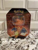 Pokemon Hidden Fates Tin Charizard-GX TCG Factory Sealed. In Hand!