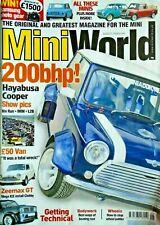 mini world, 200bhp hayabusa cooper, mini van, zeemax GT, pick-up, bodywork etc