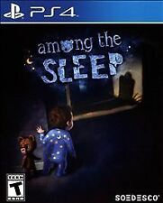 NEW FACTORY SEALED Among the Sleep (Sony PlayStation 4, 2016)