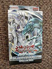 YuGiOh! Saga of Blue-Eyes White Dragon Structure Deck Sealed