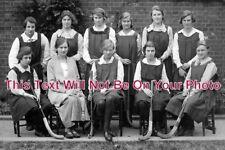 DO 465 - Girls Hockey Team, Sherborne School, Dorset 1920s - 6x4 Photo