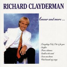 Amour and More.. by Richard Clayderman (CD, Mar-1992, Quality)