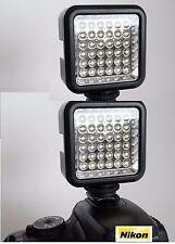 SLR/Photo/Video LED Light For Nikon D3400 D5500 D3300/200 D40X D50 D60 D3200 2