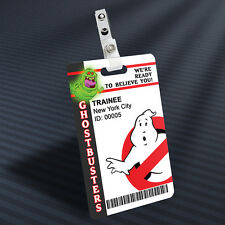 Ghostbusters - Slimer Trainee Prop ID Badge