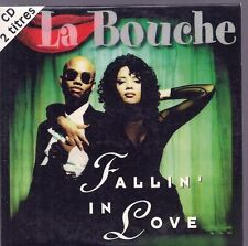 CD:LA BOUCHE--FALLIN IN LOVE--SINGLE 2 TITRES--1995