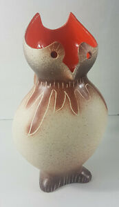 Pitcher Owl Of Pottery Of Breuil Par Bruno Dose, The 60