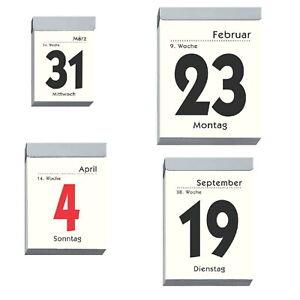 2022 Zettler Tagesabreißer Abreißkalender Tagesblock Wandkalender Kalender