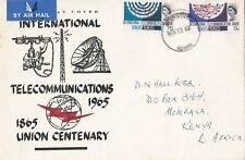 More details for 15/11/1965 gb uk fdc - telecommunications itu - telecommunications -steyning cds