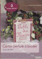 CARTON PERFORE A BRODER - JOURS DE FETE - LIVRE LOISIRS CREATIFS - NEUF