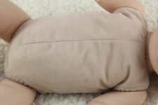 "19""-20"" doe suede cloth body for full limbs arms and legs reborn baby doll kits"