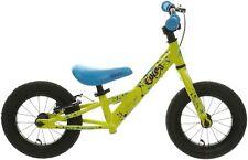 "Carrera Coast Kids Balance Bike 12"" Wheels MTB Style Frame V Brakes 19mm Grips"