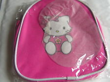 SAC A DOS A GOUTER PETIT CHAT HELLO KITTY ROSE FUSHIA   NEUF