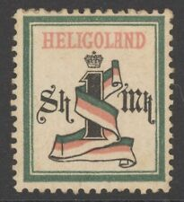 Helgoland Mi. Nr. 19Aa* geprüft Pfenninger 280 Euro