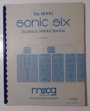 Moog Sonic Six Technical Service Manual (Sn 1300+)