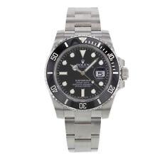 Data de Rolex Submariner 116610LN De Aço E Cerâmica Automático Relógio Masculino