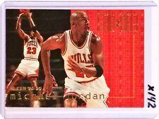 MICHAEL JORDAN 1995/96 FLEER END 2 END - #9 BULLS LAST DANCE HOF - X142