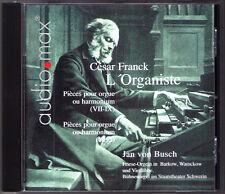 FRANCK L'Organiste. Pièces pour orgue ou harmonium Vol.2 JAN VON BUSCH Organ CD