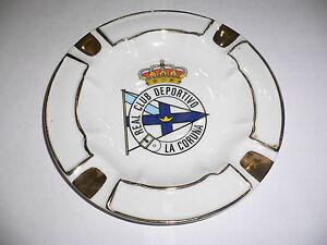 LFP  Real Club Deportivo de La Coruña - Football Spain - Old Ashtray VERY NICE!!