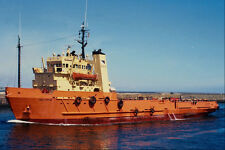 535025 Oil Rig Support Vessel SEA PIPER A4 Photo Print