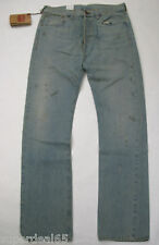 LVC Levis LVC Capital E 1947 501 Frayed Dry #475010039 34X34 Levi's  MSRP $395