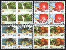 1994 Malaysia AseanPex Overprint 4v xB4 Mint NH