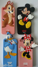 New Disney Characters Soft Rubber 3D Cover Case  Silicone Skin for iPhone 5