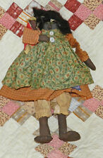 VINTAGE PRIMITIVE AFRICAN AMERICAN MAMMY DOLL! CUTE!!